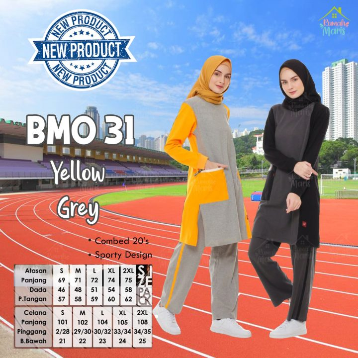 BMO31 Yellow Grey-min