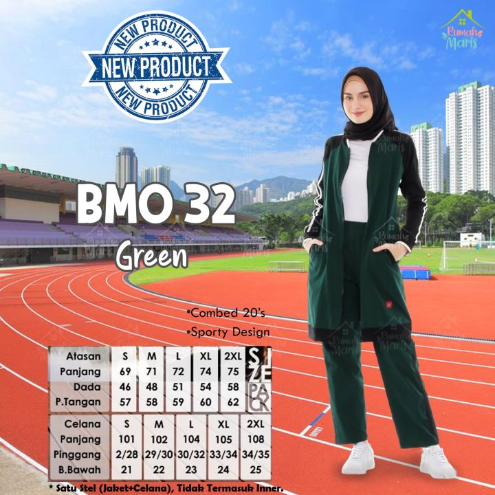 BMO32 Green Satuan-min