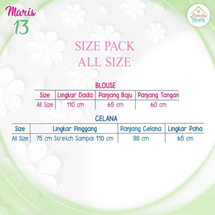 Chart Maris 13 ALL SIZE-min